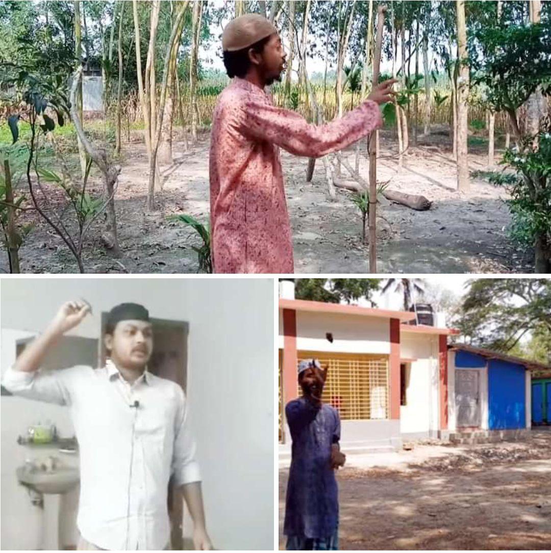 রাবি ক্যাম্পাসে 'শয়তান তাড়াতে' প্রতীকী পাথর নিক্ষেপ